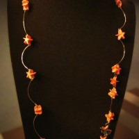Pumpkin Necklace Star